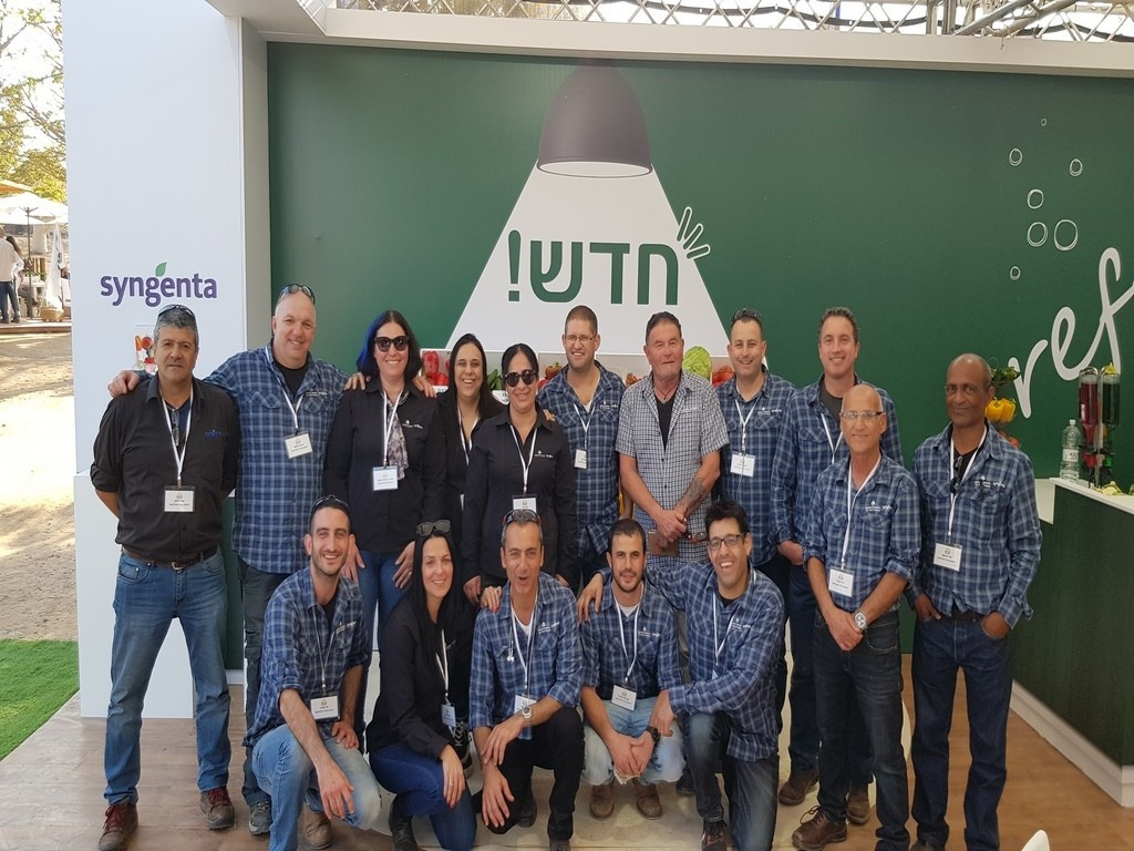 New varieties and new sales & tech team exposed at Mop Arava 2018